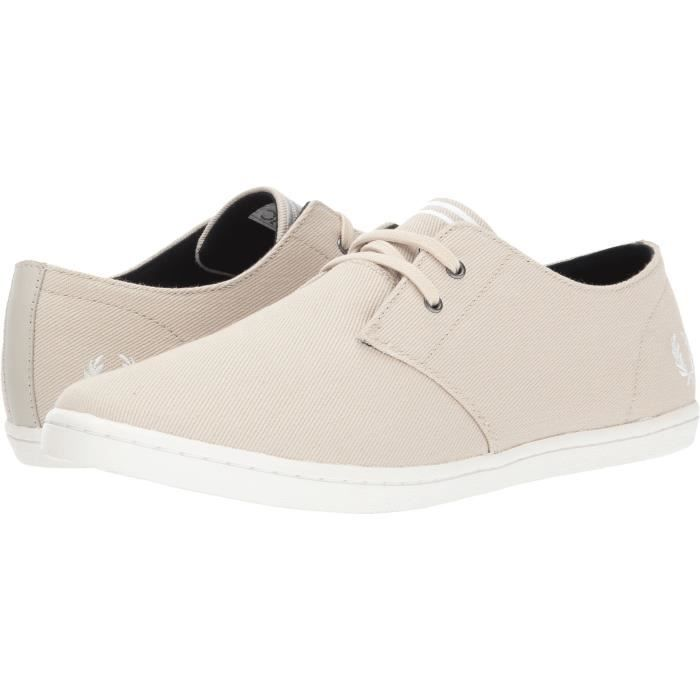 Fred Perry Byron Low Twill Fashion Sneaker OZ8MO Taille-40 1-2 5u7qsfQt