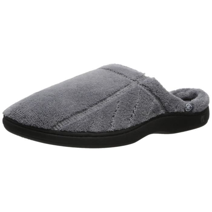 UL2DQ Microterry Men's Hoodback UL2DQ Slippers Hoodback Men's Hoodback Men's Microterry Taille Taille L L Microterry Slippers AwqRgnI