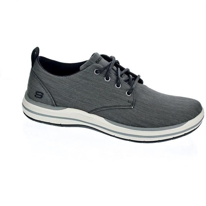 Chaussures à lacets - Skechers ElsonHommeNoir 41