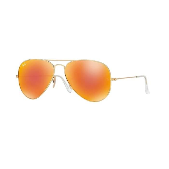Lunettes de soleil Ray-Ban HommeAVIATOR LARGE METAL RB3025 112/69 Or58 x 50,1