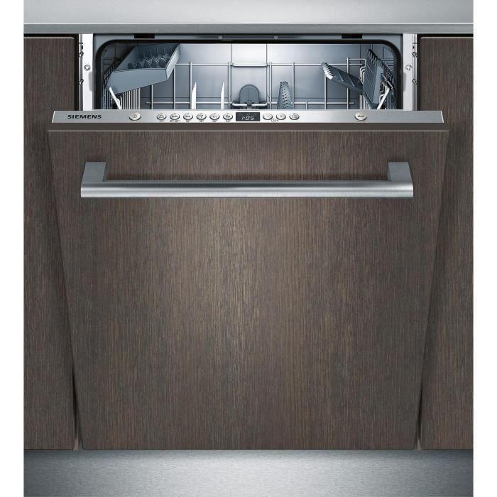 rencontrer 420fc 7fbd6 SIEMENS SN636X00AE - Lave vaisselle tout encastrable - 12 couverts - 48dB -  A+ - L60 cm - Moteur induction