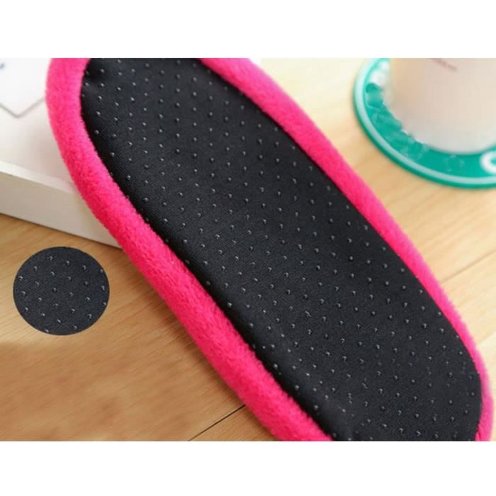 Femmes filles non Slip chaussons polaires chaud pince pantoufles yoga chaussettes sport HOT-YSZ70929491HOT_1234