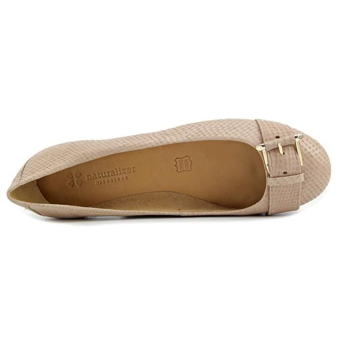 Naturalizer Bayberry Cuir Chaussure Plate bFacbTO