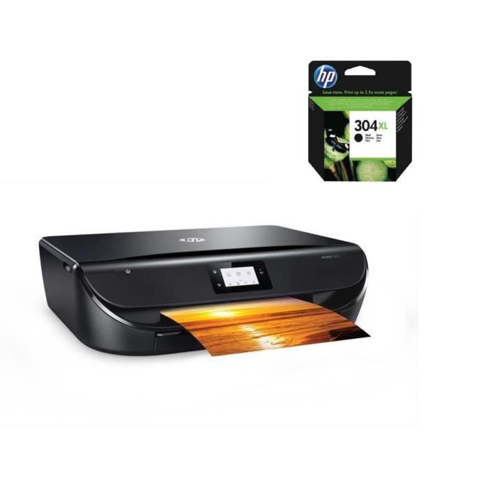 HP Imprimante Tout en un -Envy 5020 - Wifi + cartouche d'encre 304XL authentique noire