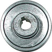 COMPRESSEUR Poulie à gorge aluminium 120 mm axe 24 mm moteur e