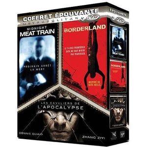 DVD FILM DVD Coffret épouvante, vol. 1