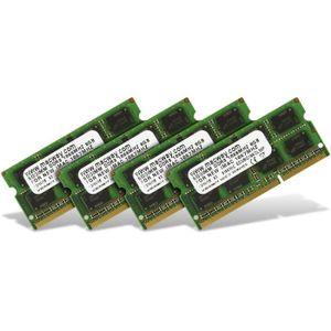 MÉMOIRE RAM Mémoire 32 Go (4 x 8 Go) DDR3 SODIMM 1867 MHz PC3-