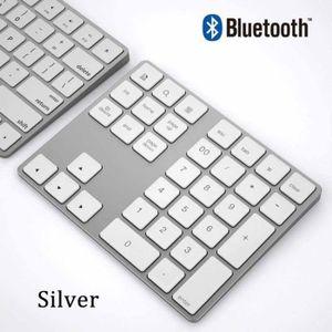 PAVÉ NUMÉRIQUE Clavier numérique en aluminium sans fil avec clavi