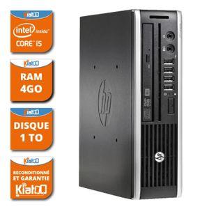 UNITÉ CENTRALE  ordinateur de bureau hp 8200 USDT intel core i5 4g