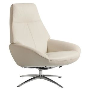 FAUTEUIL FAUTEUIL RELAXATION MANUEL DESIGN OSLO CUIR SOFT -