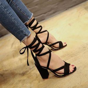 SANDALE - NU-PIEDS Mesdames Femmes Wedges Chaussures d'été Sandales P