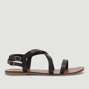 SANDALE - NU-PIEDS Sandales en cuir avec bride