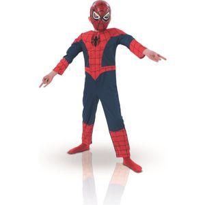 DÉGUISEMENT - PANOPLIE Costume Spiderman Luxe Avec Muscle et Masque
