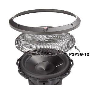 HAUT PARLEUR VOITURE Grille Subwoffer 30cm En Metal