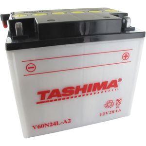 BATTERIE VÉHICULE Batterie moto Y60-N24-LA2 12V / 28Ah