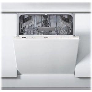 LAVE-VAISSELLE Whirlpool WRIC 3C26 P Lave-vaisselle intégrable Ni