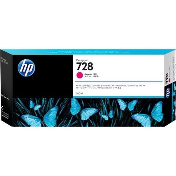 HP Cartouche d'encre 728 - Magenta - 300-ml