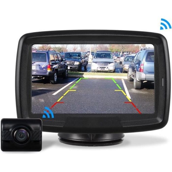 camionnettes Kit de cam/éra de recul num/érique sans Fil 5 Grand /écran Vision Nocturne IP68 Cam/éra de recul pour Voitures Camping-Cars