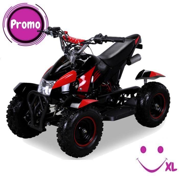 Mini Quad électrique ATV Cobra 49 cc Pocket quad 2-takt– Noir   Rouge 8f9209213220