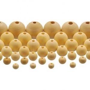 575 perles en bois brut achat vente perles 575 perles. Black Bedroom Furniture Sets. Home Design Ideas