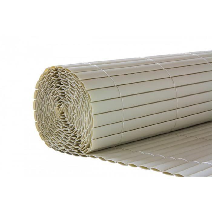 Brise-vue pour jardin en PVC couleur blanc - Achat / Vente clôture ...