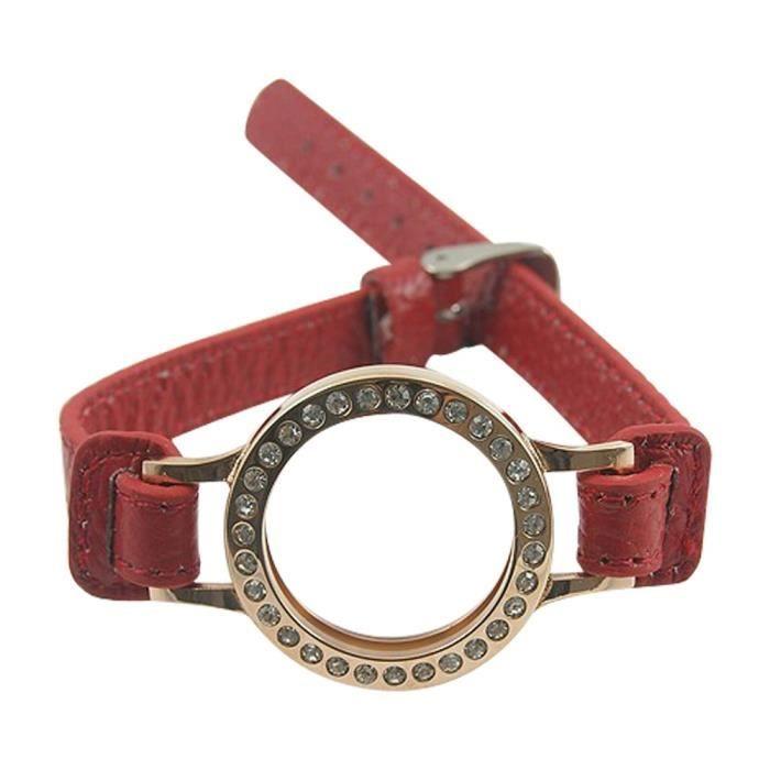 Bracelet pièces de monnaie 25 mm (Taille unique)