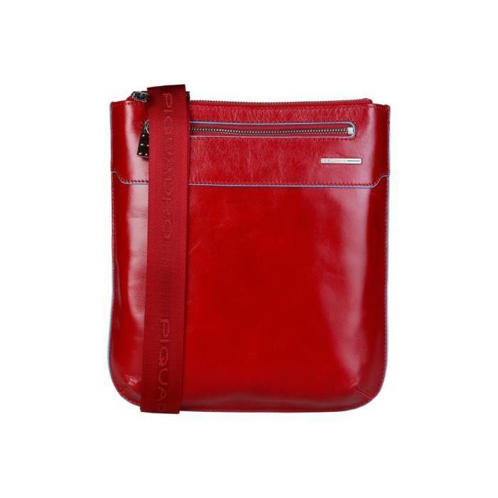 Cyllene Fantaisie - Sac porté épaule pour homme (CA1358B2_R) - Rouge