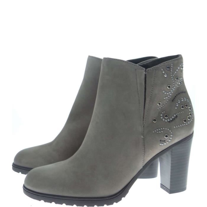 Igi&co Ankle Boots Femme Taupe