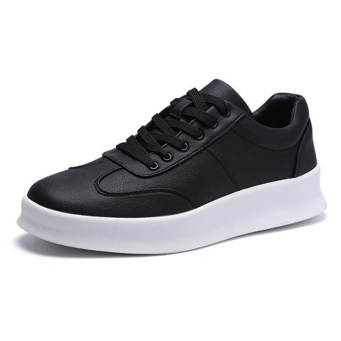 Chaussure Homme Cuir Automne et Hiver Classique Chaussures de ville BBDG-XZ186Noir B7XlZ8