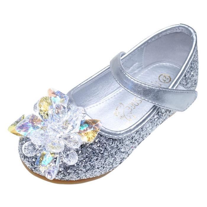 ee92c7819bd3d Chaussure fille enfant blanc ballerine - Achat   Vente pas cher