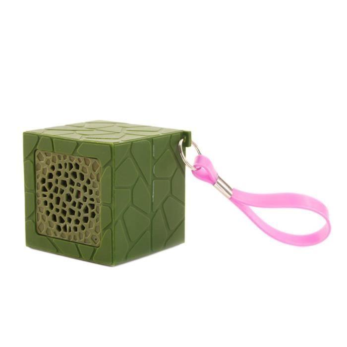 Mini Haut-parleur Stéréo Portable Sans Fil Bluetooth Pour Téléphone Pc