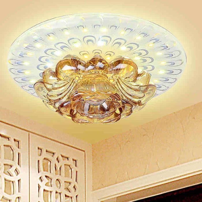 12w cristal led dimmable plafonnier lampe de plafo 5 Superbe Plafonnier Couloir Led Kdj5