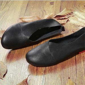 Ballerine Femmes Printemps Été Mode Cuir Chaussures XFP-XZ057Jaune41 pikokLq
