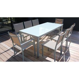 Salon de jardin aluminium - Achat / Vente Salon de jardin ...