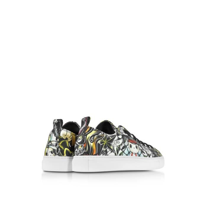 DSQUARED2 HOMME S17SN116758M037 MULTICOLORE TISSU BASKETS