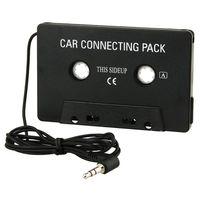 ADAPTATEUR AUDIO-VIDÉO  Adaptateur cassette audio voiture à prise jack 3,5