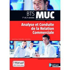 MANUEL BTS Analyse et conduite de la relation commerciale BTS