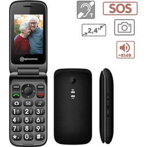 Téléphone portable Amplicomms PowerTel M6750 Téléphone Portable pour