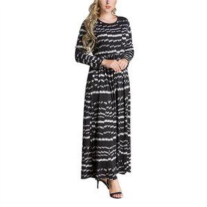 ROBE New Style arabe Robe Dubai Kaftan imprimé robe mus
