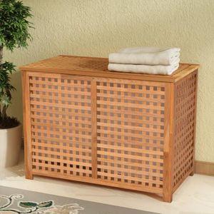 coffre a linge sale achat vente coffre a linge sale pas cher soldes d s le 10 janvier. Black Bedroom Furniture Sets. Home Design Ideas