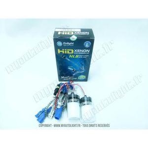 AMPOULE TABLEAU BORD 2 ampoules Xénon H7R 8000K 35W Super Bright +50% -