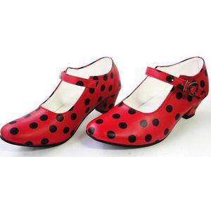 escarpin enfant Achat Chaussures FLAMENCO de Vente Rouge danse Z7qSw