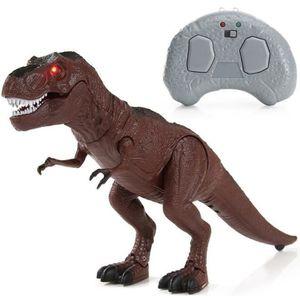 FIGURINE - PERSONNAGE SWAREY Modèle de jouet de dinosaure à pied Lumière