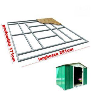 ABRI JARDIN - CHALET Support de plancher base pour Box Abri de jardin 2