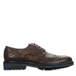 DERBY Chaussures à lacet homme - CHIBS - Marron - 2105