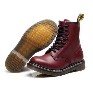 BOTTE Martin Boots bottes de motard imperméables adultes