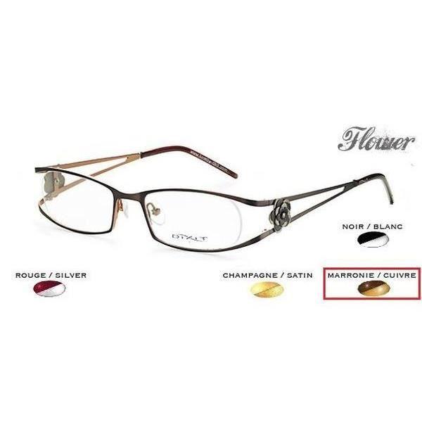 Monture Femme Dixit Marron Cuivré - Achat   Vente lunettes de vue ... 7034c7828895