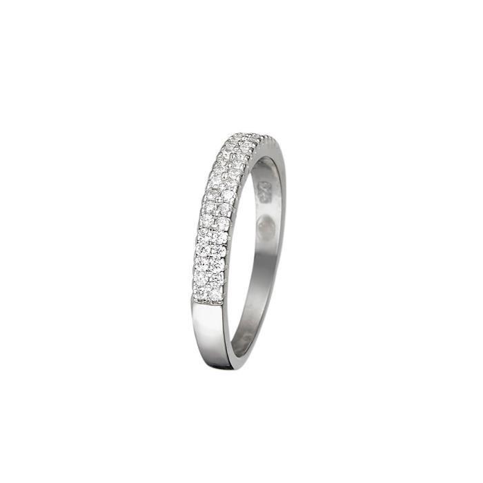 Mes-bijoux.fr - Bague Femme Simplicité en Argent 925-1000 - 8FB2530gv