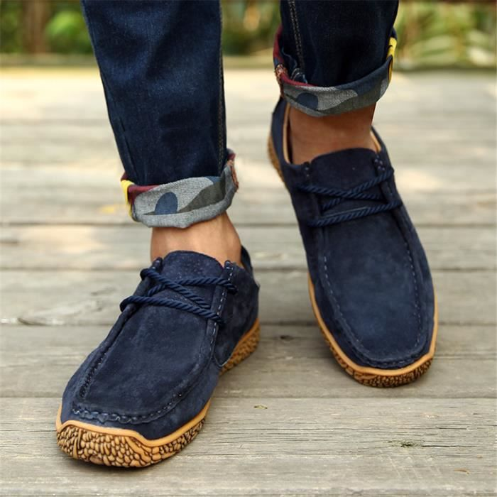 Mode Léger Rétro Homme Couple Elégant vert Haut Sneaker Qualité Simple 38 Au Chaussure Garde Confortable beige 44 Chaud Sneakers Classique Bleu ZzAwpwq