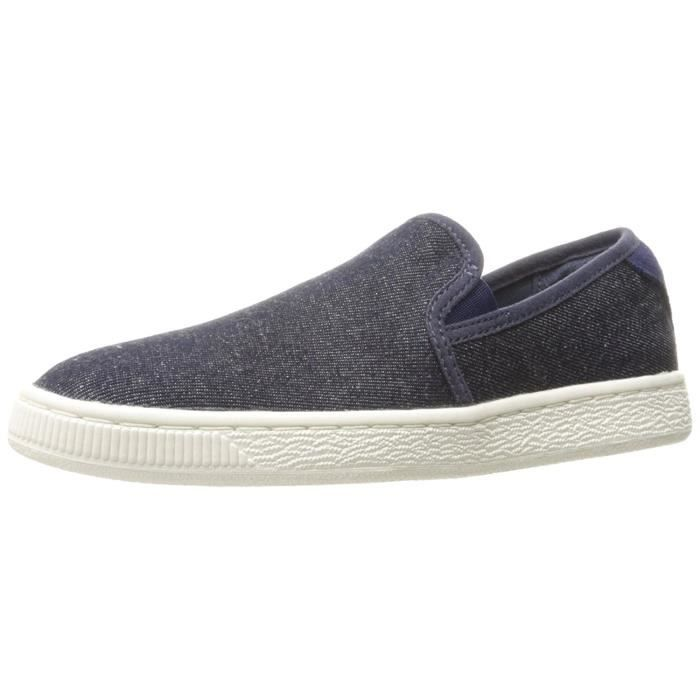 Puma Panier Classic Slip On Denim Sneaker mode BP3OY Taille-36 1-2